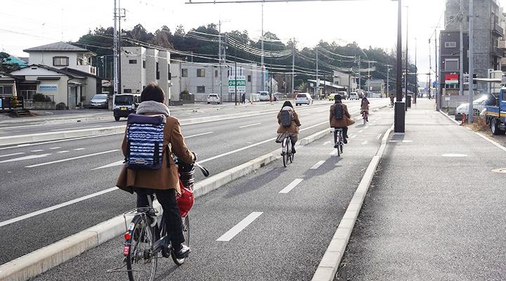 自転車道設計イメージ