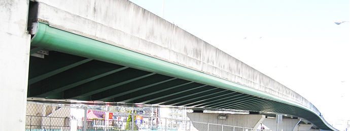 高架橋の設計条件と橋梁形式イメージ
