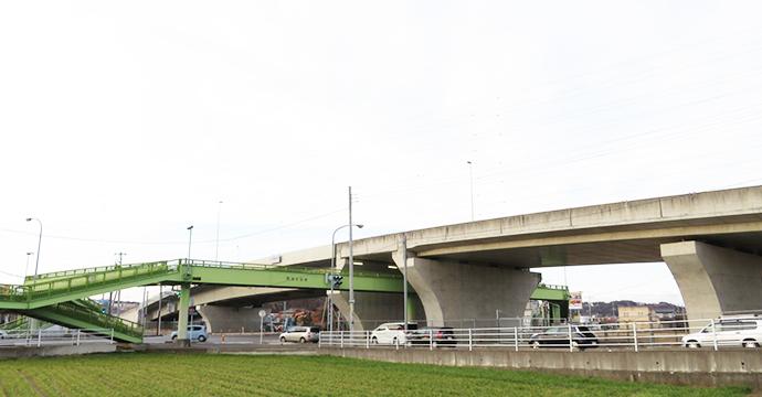 関堀陸橋2008イメージ
