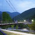 水の郷大吊橋
