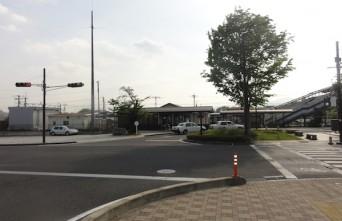 02_JR下野大沢駅前広場